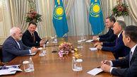 دیدار ظریف با نورسلطان نظربایف