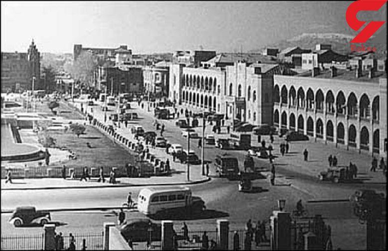 عکس کمتر دیده شده از توپخانه طهران+عکس