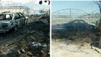 آتش سوزی در کهنوج با اتصال سیمهای برق/3 خانه و یک ماشین خاکستر شدند+ عکس