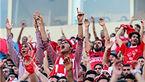 حدود 800 تماشاگر عربستانی در ورزشگاه/پرسپولیسیها سلفی گرفتند