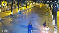اقدام شرورانه آتش زدن بی خانمان غرق در خواب!+ فیلم