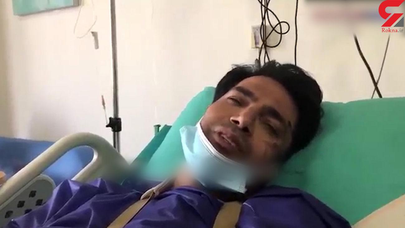 امیرحسین صادقی : پرسپولیسی ها من را نزدند + فیلم