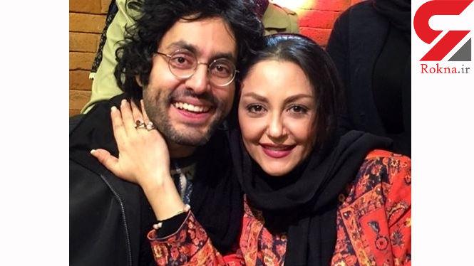 شقایق فراهانی در کنار برادرش +فیلم