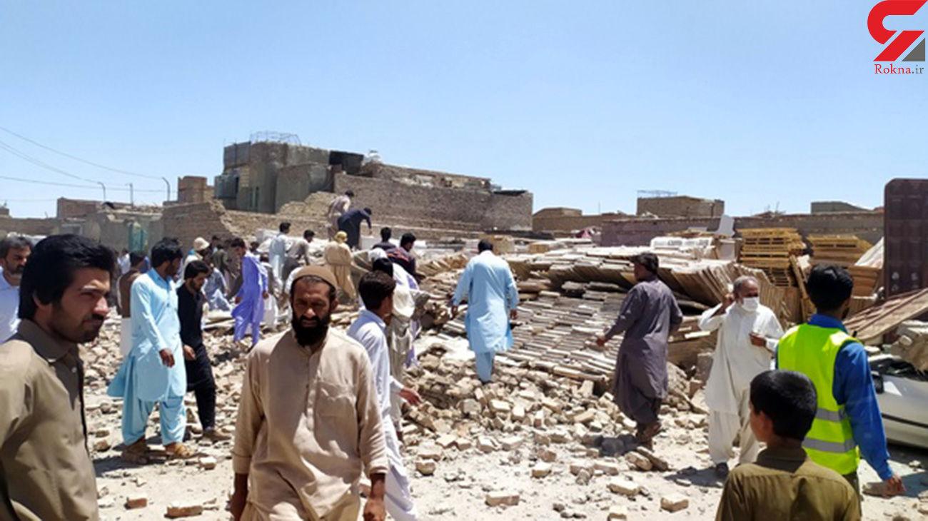 مرگ تلخ مرد زاهدانی در ریشز دیوار انبار کاشی /  3 تن دیگر به شدت مصدوم شدند+ عکس