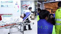 مرد 29 ساله تهرانی در چهارشنبه سوری بی چشم شد + عکس