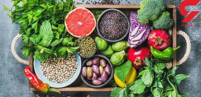 لیست سبزی هایی که باید پخته خورده شوند