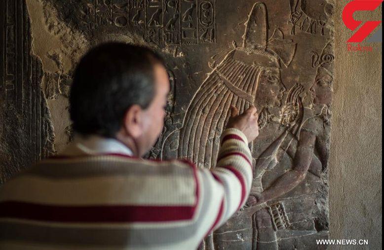 مقبره پرستار فرعون کشف شد +تصاویر