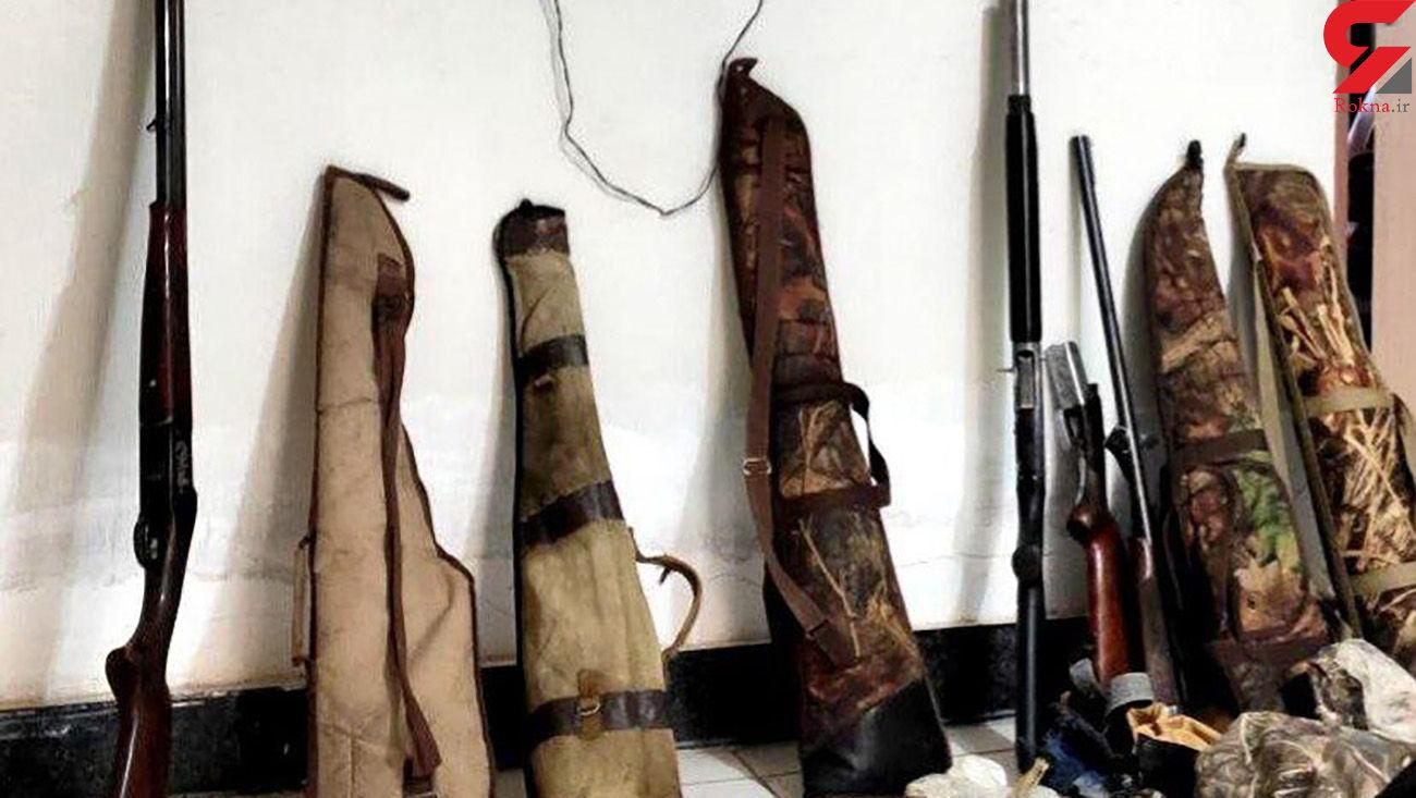 دستگیری 8 شکارچی متخلف در پیرانشهر