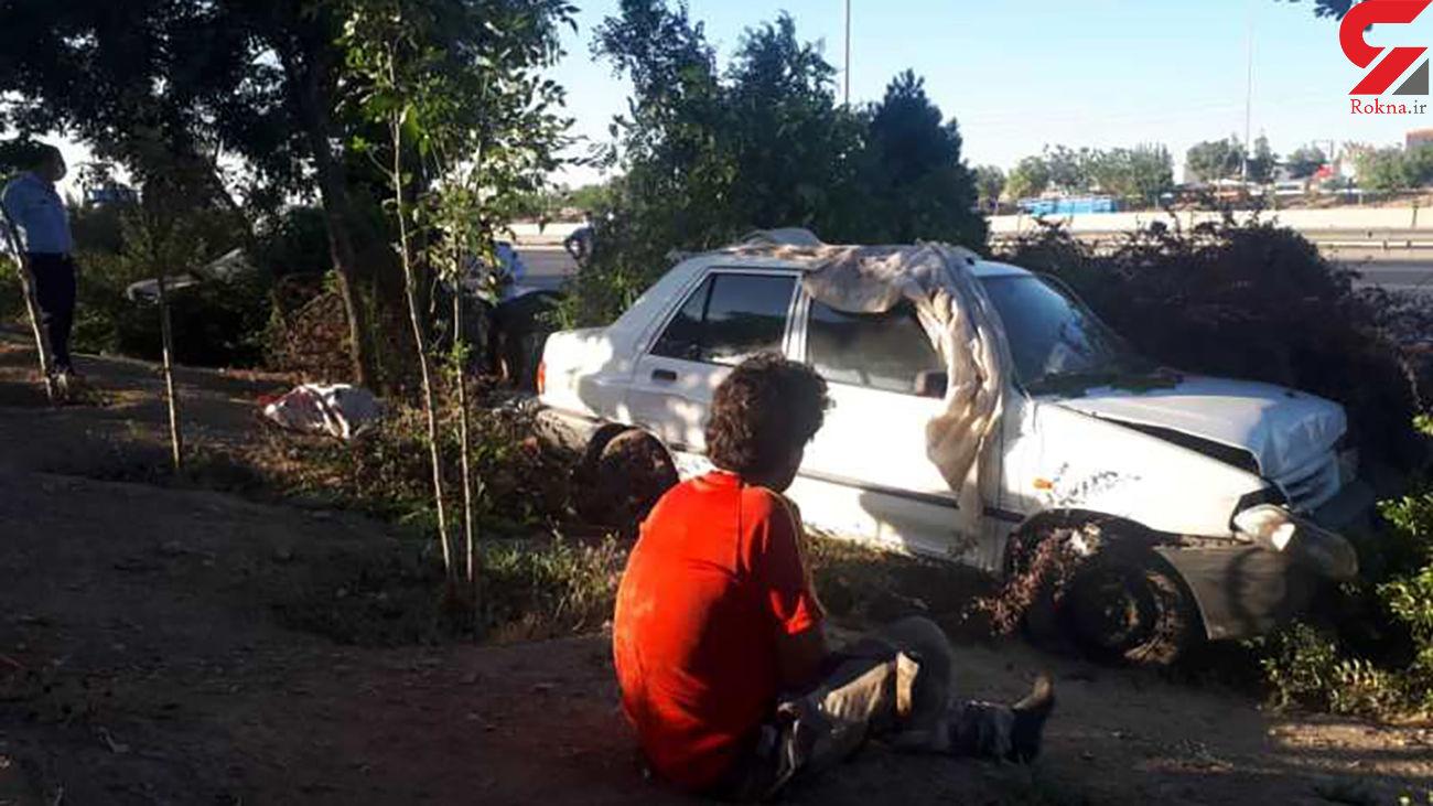 این کارتن خواب ها قرار بود بمیرند ! / حادثه ای که در جنوب تهران رخ داد + عکس