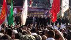 تشییع شهدای حادثه تروریستی اهواز با حضور نمایندگان رهبری و دولت +فیلم