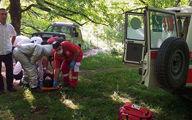 چوپان سقوط کرده در منطقه کوهستانی اِسکِر رابر نجات یافت