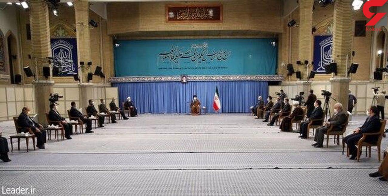 جلسه ستاد ملی مقابله با کرونا در حضور رهبر  معظم انقلاب