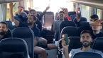 آوازخوانی ترکی ملی پوشان والیبال ایران در اتوبوس + فیلم