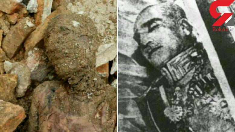 فوری/  جسد مومیایی پیدا شده در شهر ری قطعا رضاشاه است ! + فیلم جزییات ناگفته
