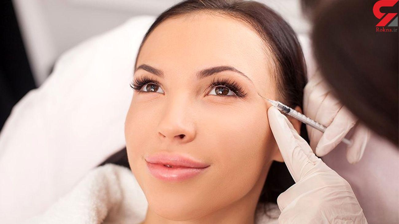 جوانسازی صورت با تزریق ژل
