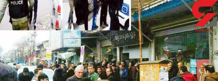 فیلم لحظه دستگیری یک زن دزد/ زن جواهر فروش باهوش تر بود!+تصاویر