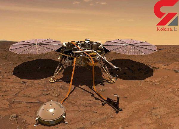 ثبت صدای باد در مریخ