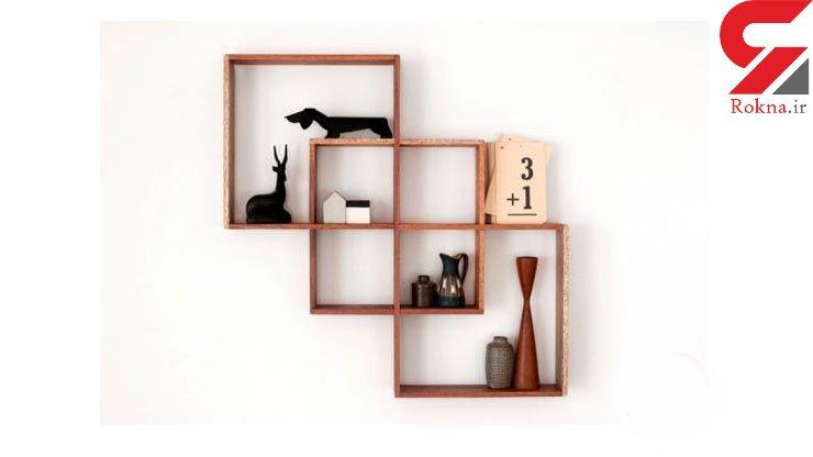 ایدههایی  جالب و خلاقانه برای ساخت شلفهای چوبی+تصاویر