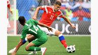 بازیکنان عربستان به دلیل باخت سنگین جریمه نقدی می شوند