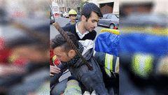 تصویر دلخراش از فرو رفتن میلگرد در بدن پسر جوان تهرانی+ عکس های وحشتناک