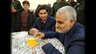 انگشتر سردار سلیمانی در بین وسایل شهید مرادخانی + عکس