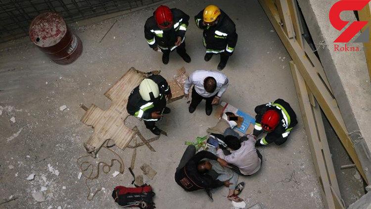 سقوط یک مرد دزفولی از طبقه چهارم یک واحد مسکونی