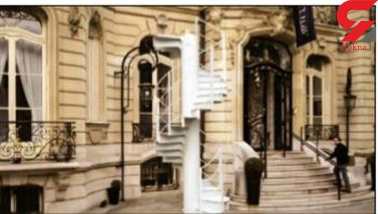 فروش یکی از پلههای برج ایفل
