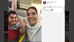 ماجرای سیلی که خانم بازیگر معروف تلویزیون خورد! + عکس