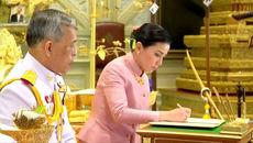 جزئیات ازدواج غیر منتظره پادشاه تایلند با خانم مهماندار هواپیما + عکس