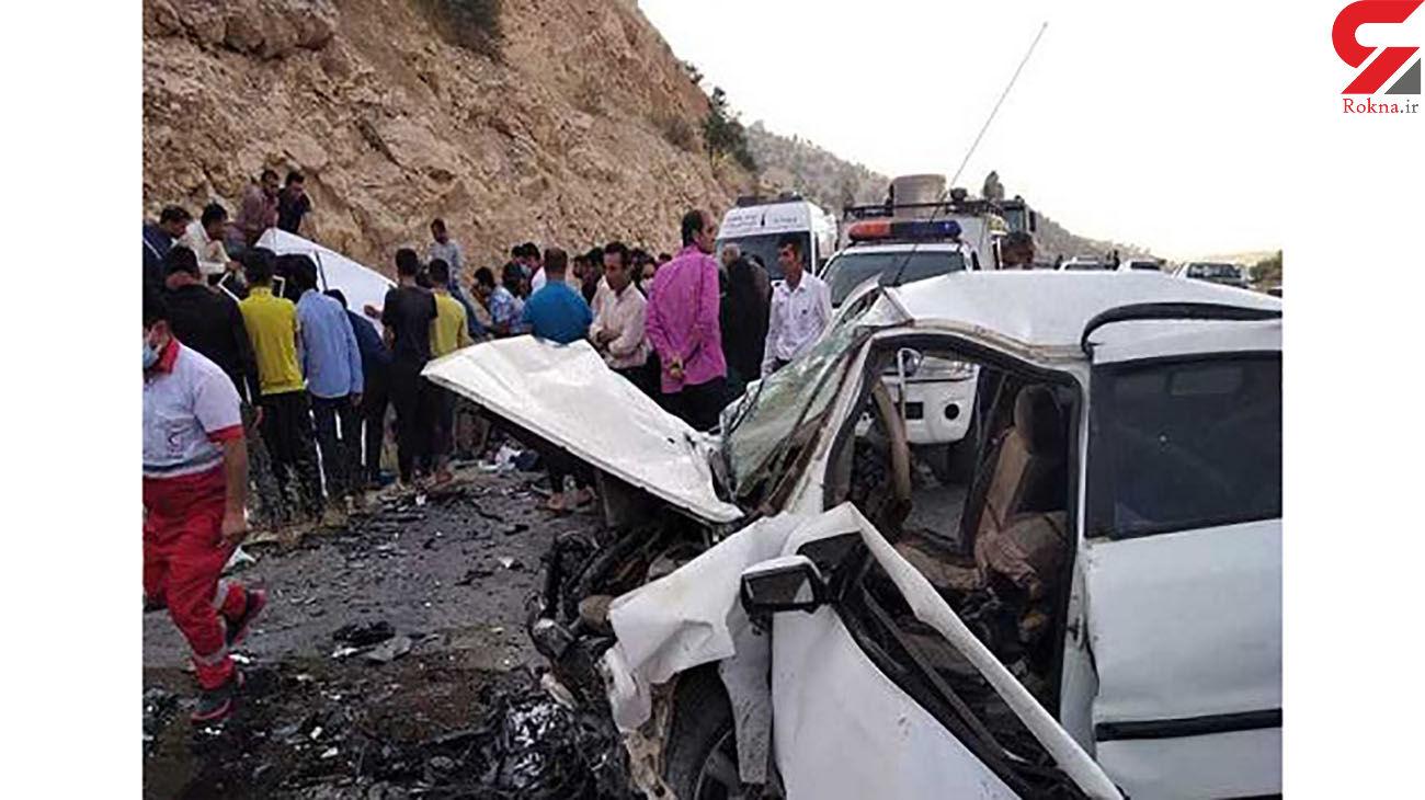 3 کشته و 7 مصدوم در تصادف یاسوج