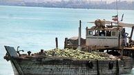 توقیف ۴ فروند لنج تجاری در پارسیان