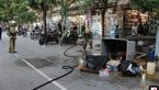 جاری شدن مواد سمی در خیابان ناصر خسرو / آتش نشانان راهی محل حادثه شدند + عکس