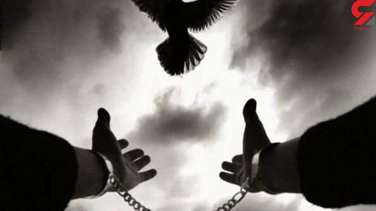 نجات قاتل اعدامی زیر طناب دار زندان کاشان