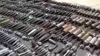 تسلیحات به جا مانده از تروریستها در دمشق! +فیلم