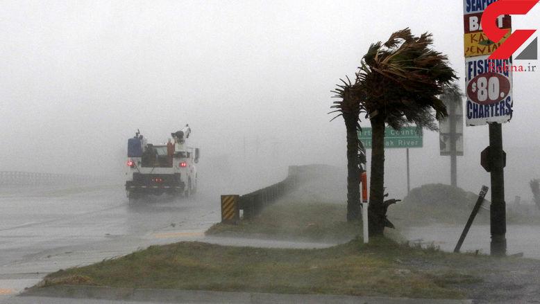 توفان فلورانس جان ۵ نفر را در کارولینای شمالی گرفت + عکس