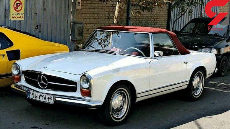 ماشین لوکس و گران قیمت آلمانی در تهران!