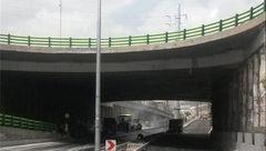 تکمیل پل روگذر تقاطع بلوار علامه عسگری با جاده قدیم قم، به زودی