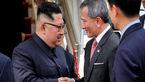 دیدار کیم جونگ اون با نخست وزیر سنگاپور