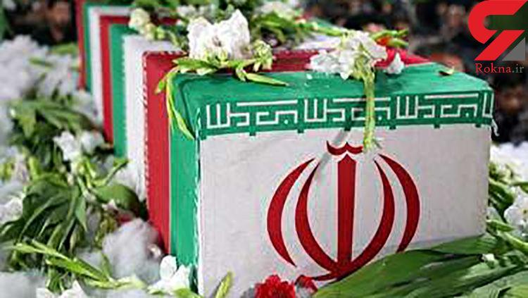 پیکر شهید جواهری با حضور مردم شهید پرور کرمانشاه تشییع شد + فیلم