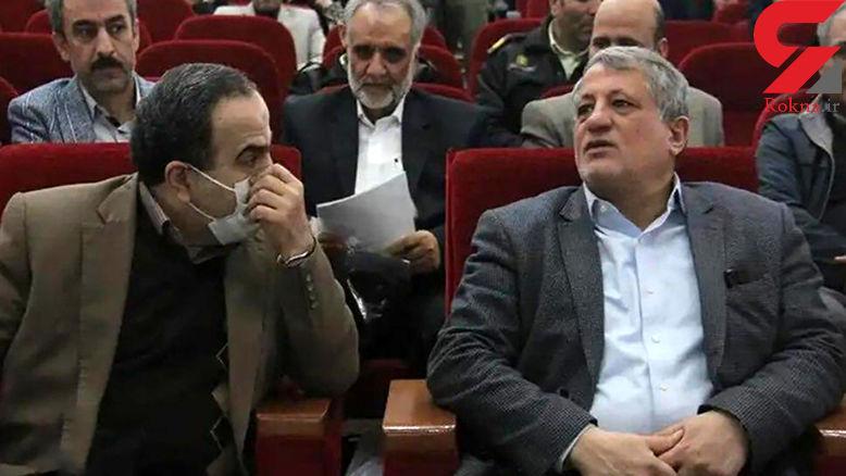 کرونا ، شهردار منطقه 13 تهران را در بیمارستان بستری کرد + عکس