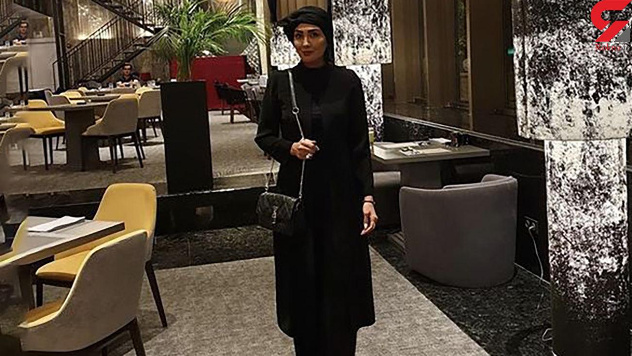 مریم معصومی سیاه پوش شد + عکس