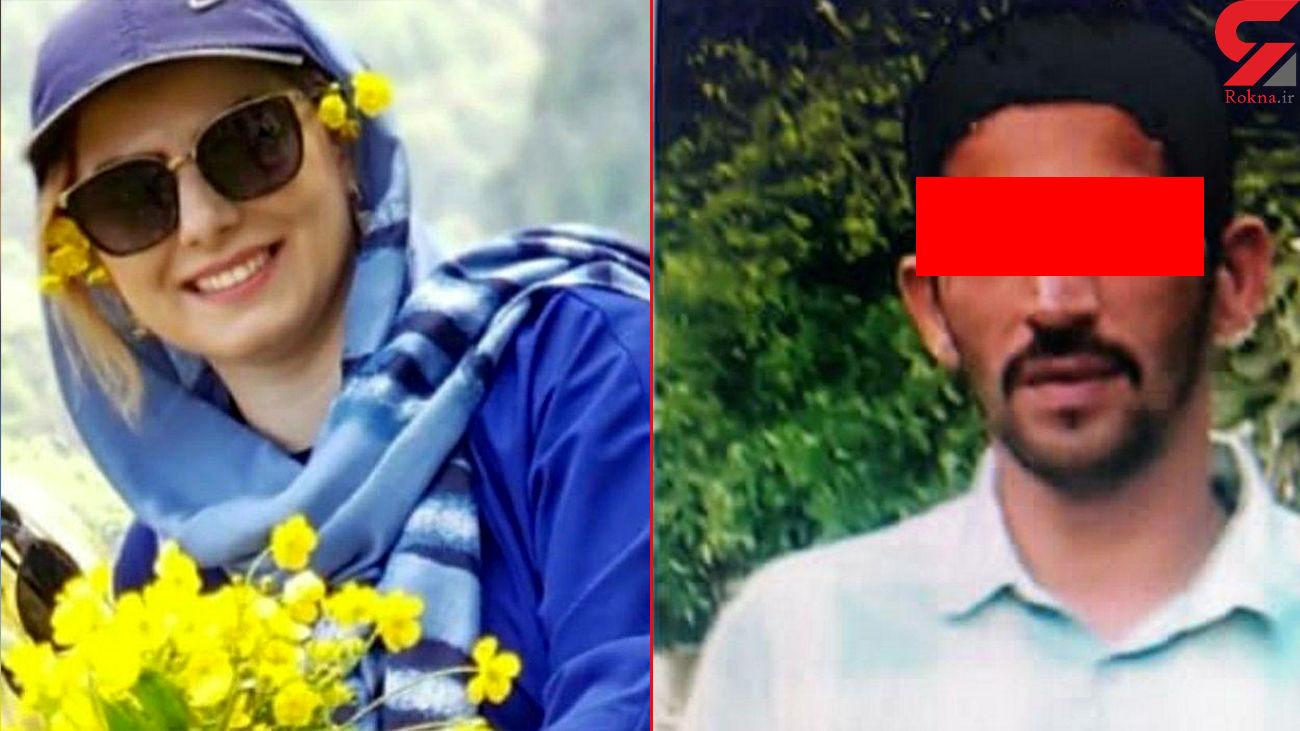 فرار قاتل الهام سرلاتی / همسرش بازداشت شد + عکس قاتل فراری
