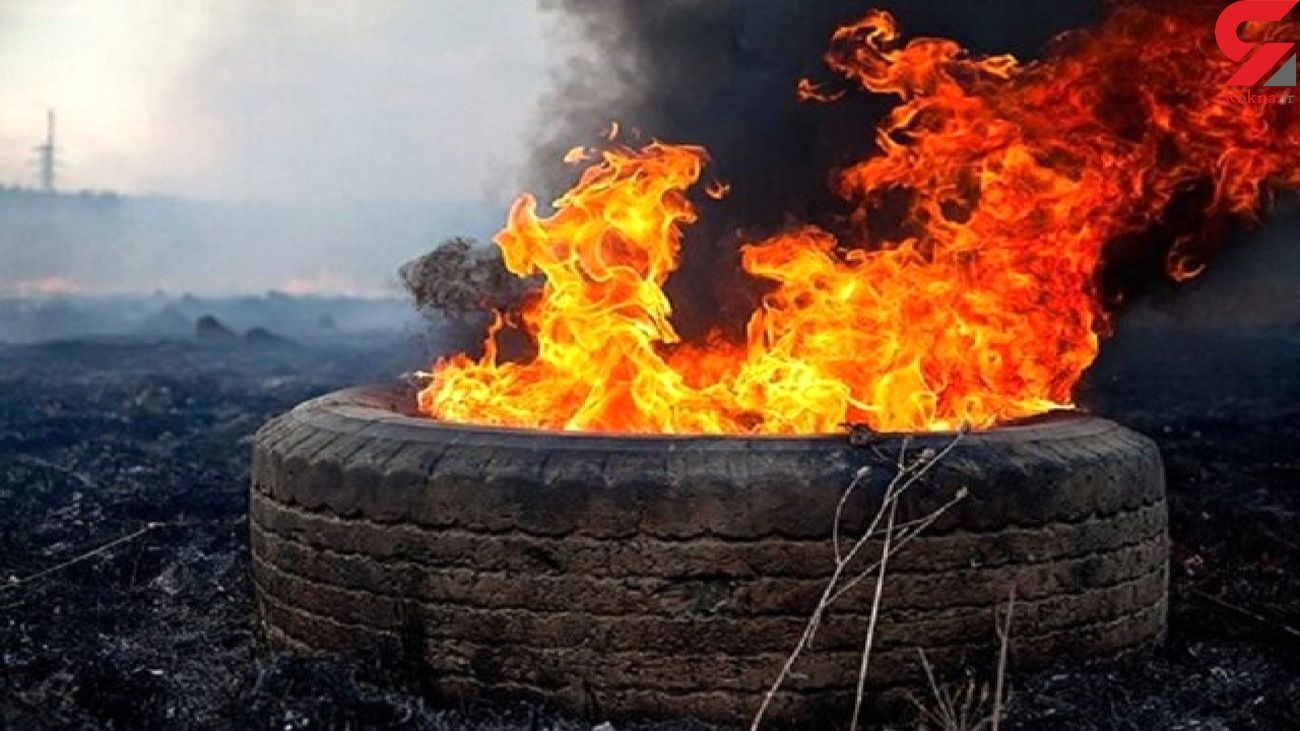 دستگیری یک متخلف آلودگی زیست محیطی در بجنورد