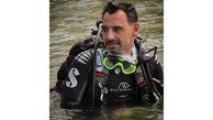مردی که ۸۴ روز در آبهای خلیج فارس زندگی کرد / او یک مرد گینسی است + عکس
