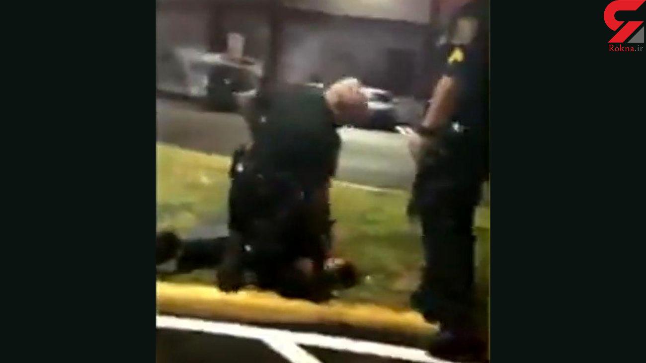 خشونت پلیس آمریکا علیه یک زن در فلوریدا
