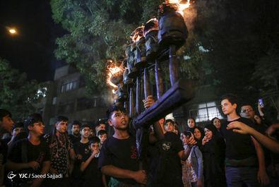 آئین سنتی مشعلگردانی در تهران