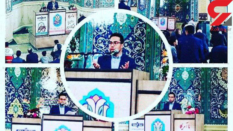 یک جوان برای نخستین بار سخنران نماز جمعه در شهرستان های غرب استان تهران شد