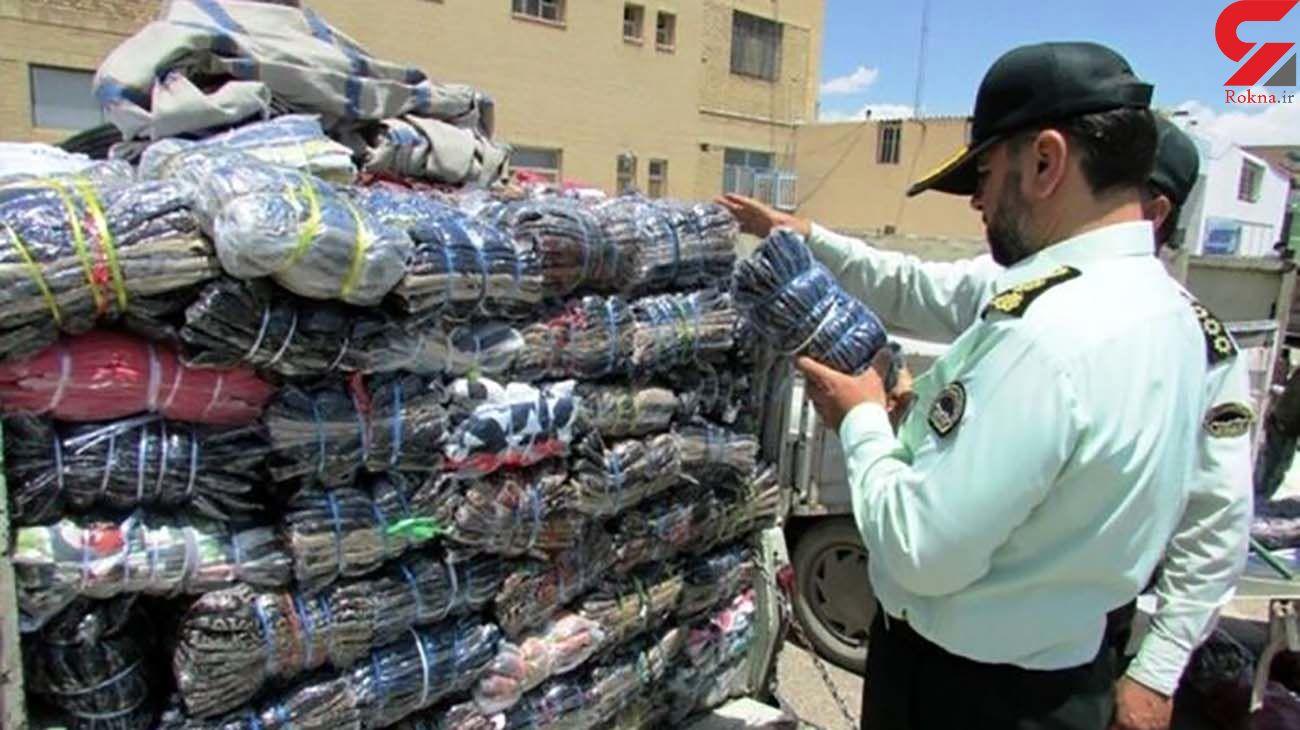 حکم 17میلیاردی تعزیرات خوزستان برای قاچاق البسه و کفش