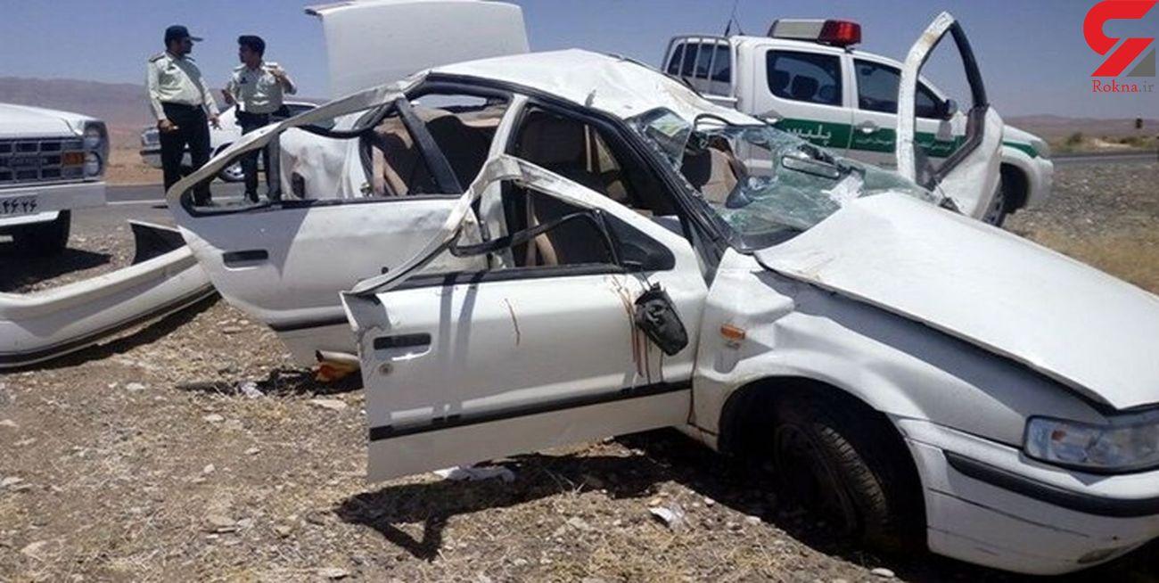 حوادث پایان ناپذیر رانندگی در استان سمنان با 3 مصدوم