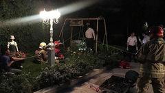 نجات معجزهآسای مرد جوان پس از سقوط به چاه ۵۰ متری + تصاویر